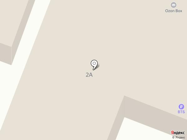 Банкомат, Россельхозбанк на карте Саранска