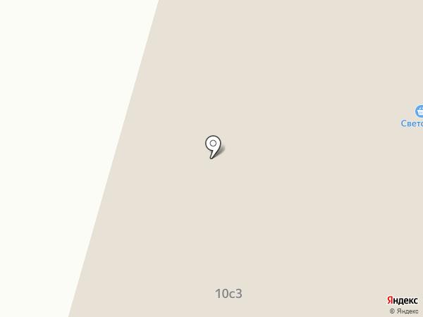 Дом мебели на карте Саранска