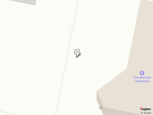 Метелица на карте Заречного