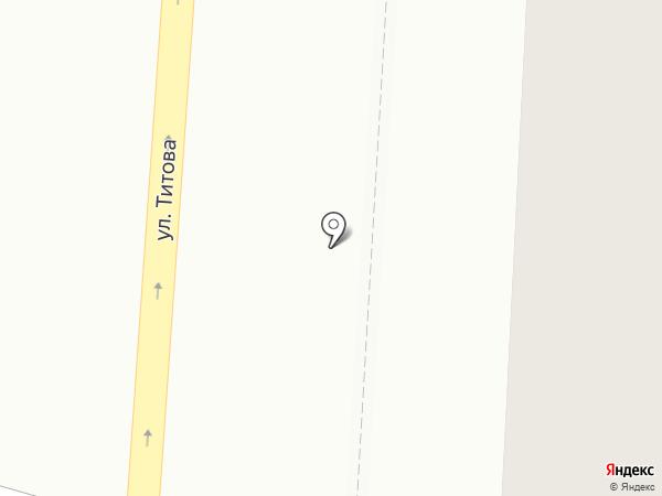 Домоуправление №25 на карте Саранска