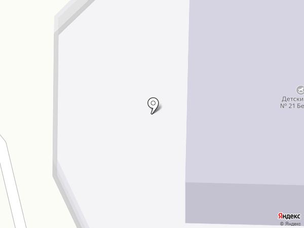 Детский сад №21 на карте Саранска