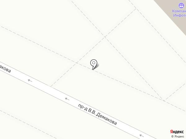 Вертикаль на карте Заречного