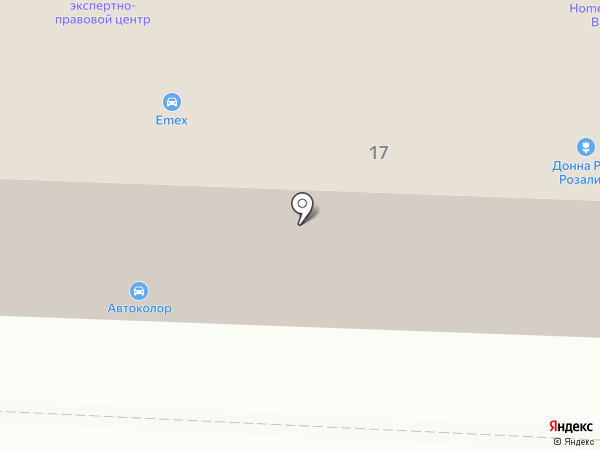 Белый лотос на карте Саранска