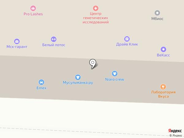 Принт-Издат на карте Саранска