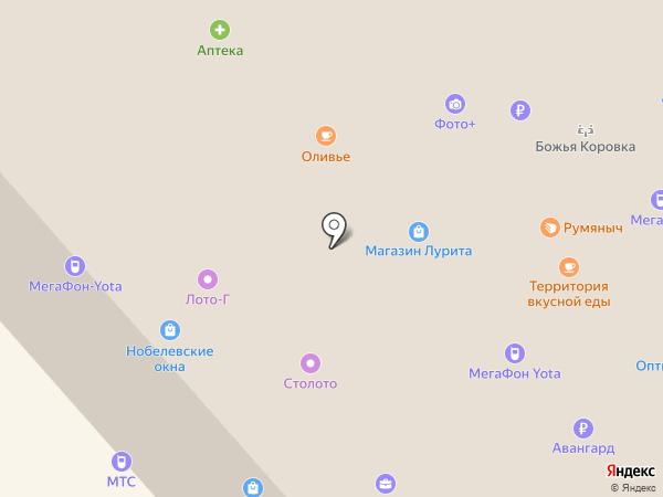 Пензапринт на карте Заречного