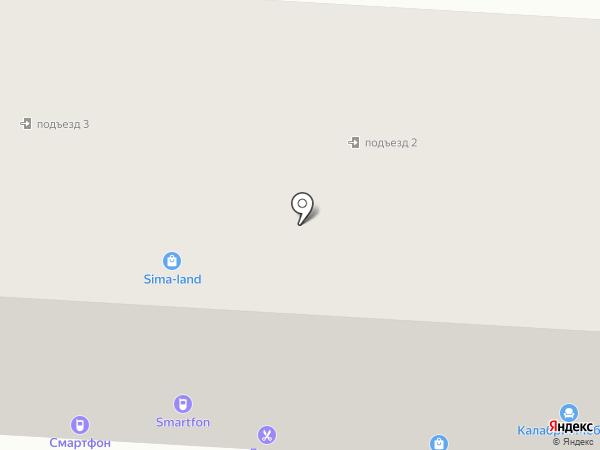 Айсберти на карте Саранска