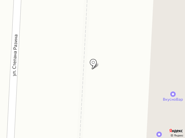 АвиаТранс Мордовия на карте Саранска