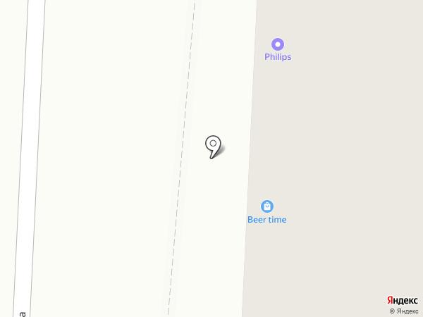 Призма на карте Саранска