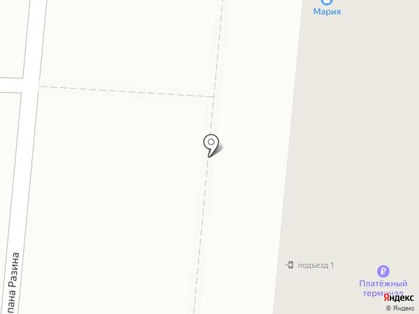 Сеть магазинов мяса на карте Саранска