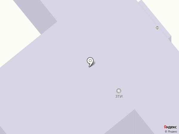Зареченский технологический институт на карте Заречного