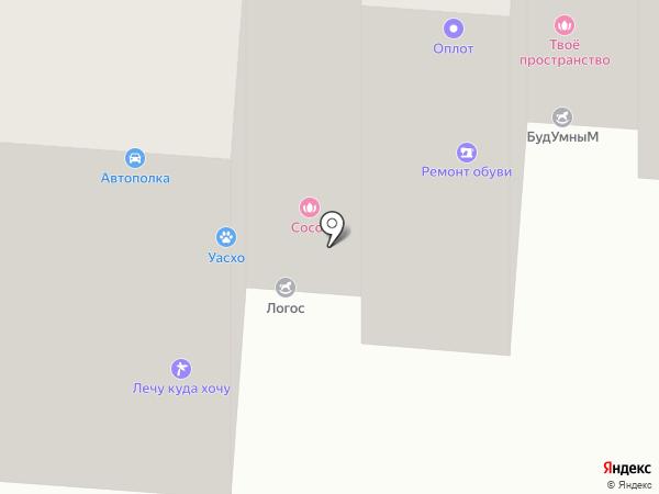 Мастерская по ремонту обуви на карте Саранска
