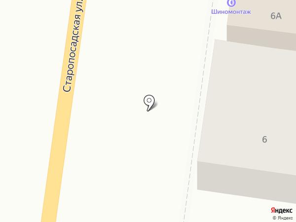 Радиус на карте Саранска