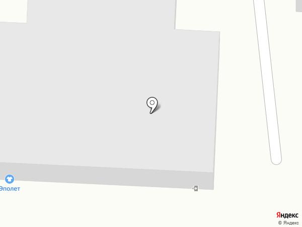 Эполет на карте Саранска