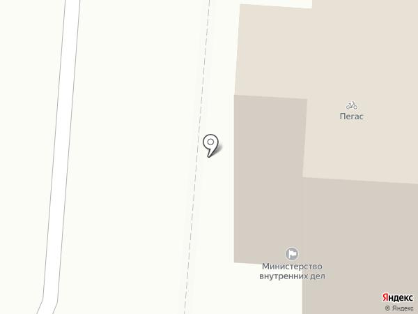 Отдел вневедомственной охраны по городскому округу Саранск на карте Саранска