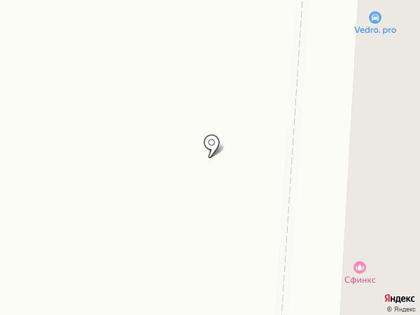 MERCI на карте Саранска
