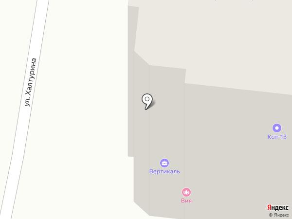 Да Гамма на карте Саранска