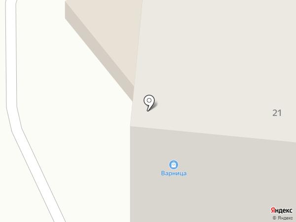 Народный на карте Заречного