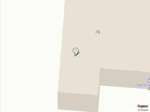 Центр занятости населения города Саранска на карте Саранска