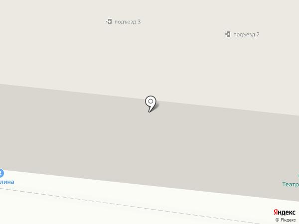МХАТик на карте Саранска