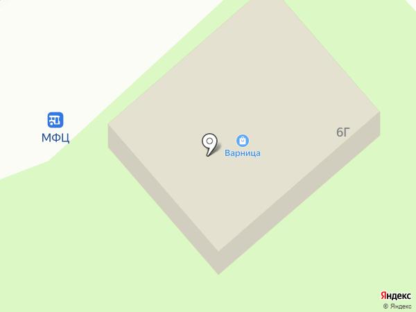 Авоська на карте Заречного