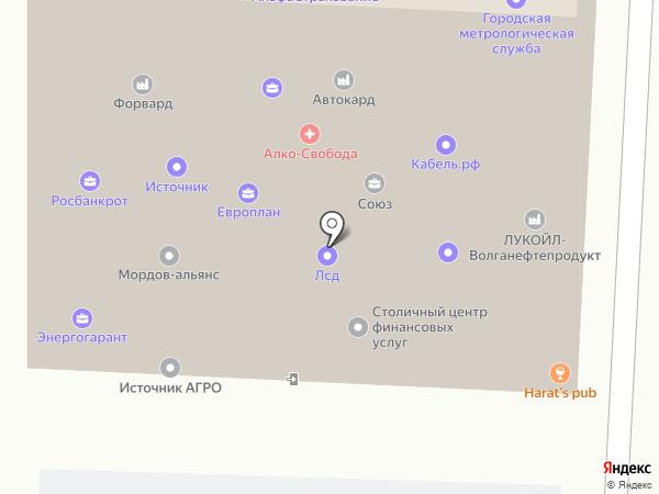 СКБ Контур на карте Саранска
