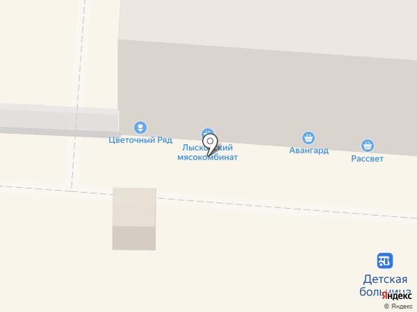 Крот на карте Саранска