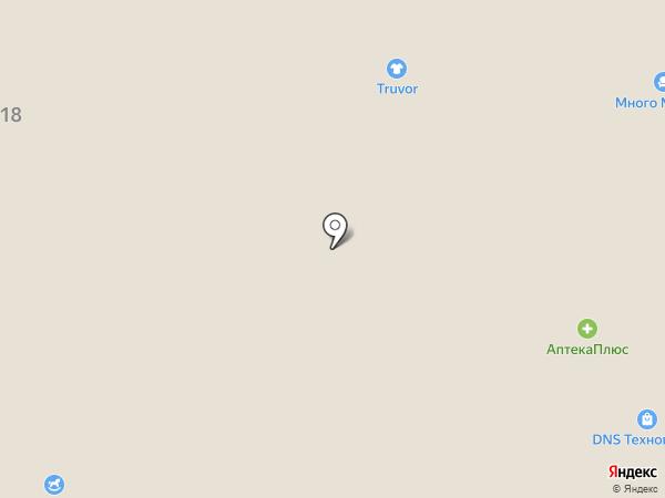 Много мебели на карте Саранска