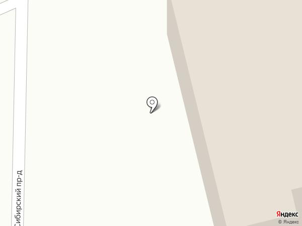 Каравай на карте Пензы