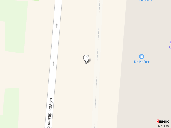 Attache на карте Саранска
