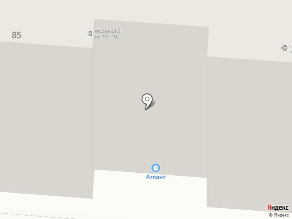 Мордовский на карте Саранска