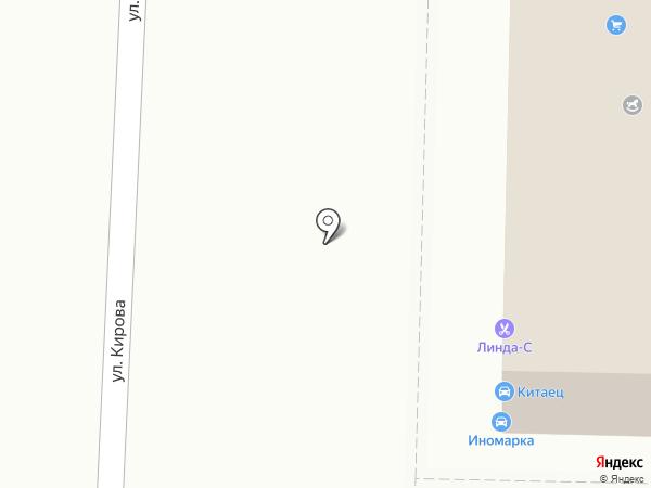 Вип на карте Саранска