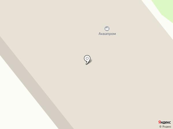 Аквапром на карте Заречного
