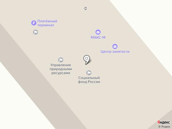 Управление природными ресурсами г. Заречного, МКУ на карте Заречного