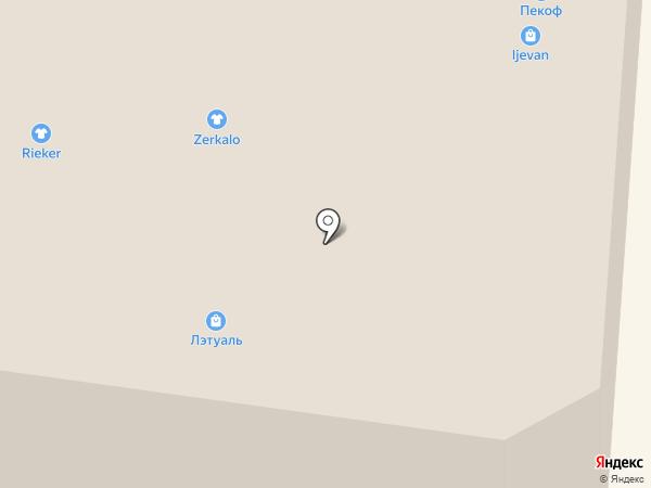 Банкомат, АКБ Фора-банк на карте Саранска