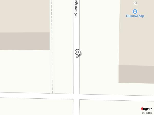 Почтовое отделение №4 на карте Саранска