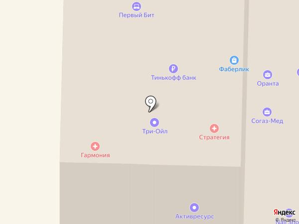 Росгосстрах банк, ПАО на карте Саранска