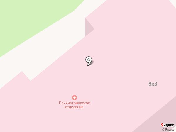 Медико-санитарная часть №59 Федерального медико-биологического агентства, ФГБУЗ на карте Заречного