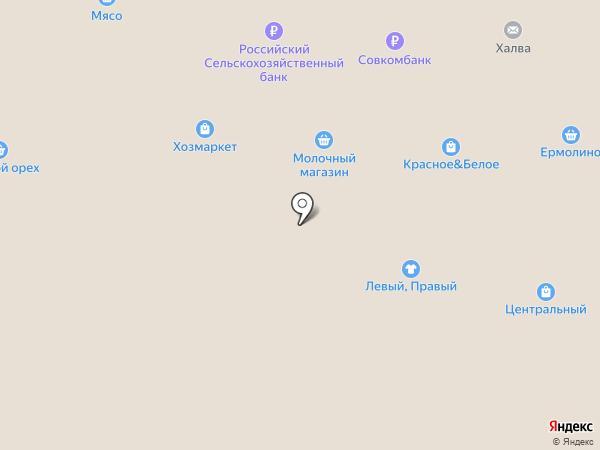 Центральный рынок на карте Саранска