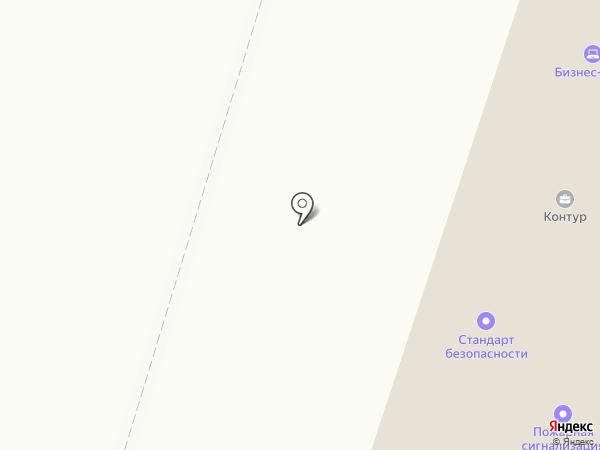 Мордовия-лизинг на карте Саранска