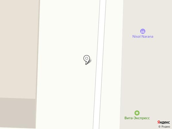 Милан А на карте Саранска