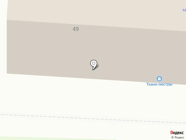 Матрица на карте Саранска