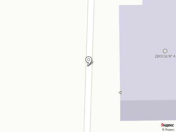 СДЮСШ №4 на карте Саранска