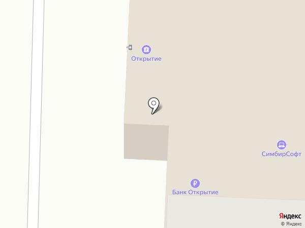 Городская баня №1 на карте Саранска