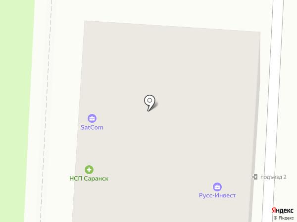 Домстроймаркет на карте Саранска