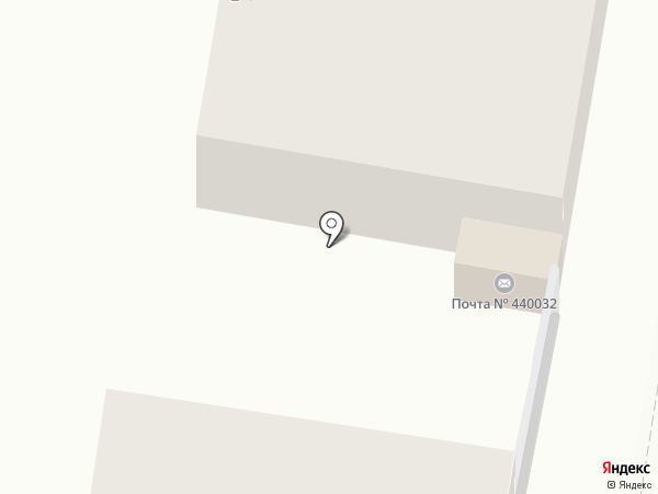 Почтовое отделение №32 на карте Пензы