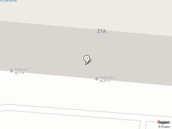 Изида на карте Саранска