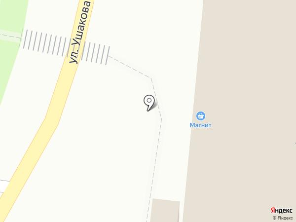 Магнит на карте Пензы