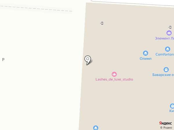 ВЕРНА на карте Саранска