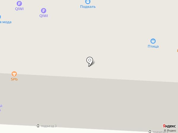Рубль Бум на карте Саранска