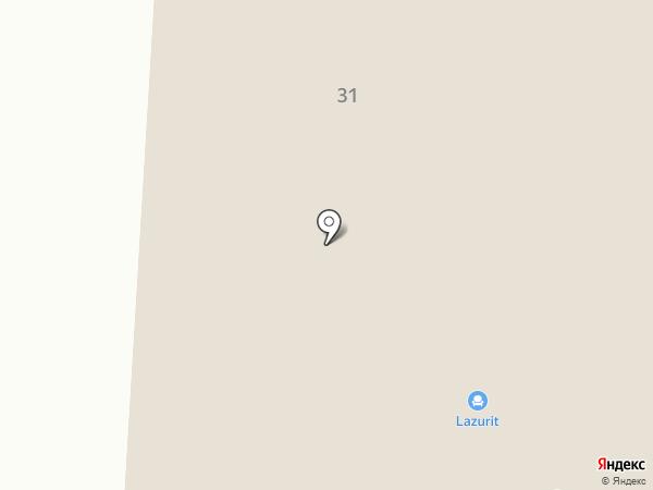Орматек на карте Саранска